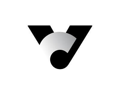 VC 2 c v vc negative space logotype typography letter monogram symbol mark logo