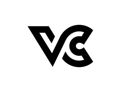 VC 4 c v vc logotype typography letter monogram symbol mark logo