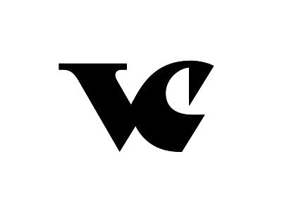 VC 5 c v vc logotype typography letter monogram symbol mark logo
