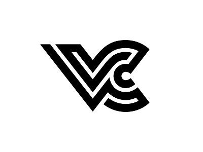 VC 6 c v vc typography letter monogram symbol mark logo