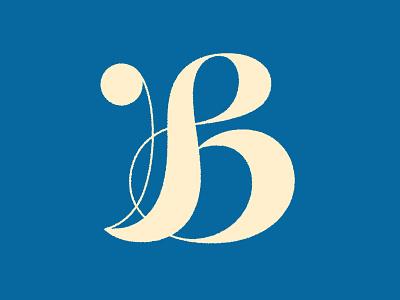 Letter B b logo letter b b logotype typography letter monogram symbol mark logo