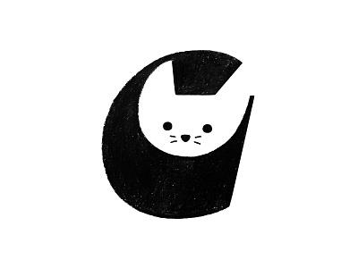 C for cat negative space logo cute logo cat logo cat logo mark symbol negative space logotype typography letter monogram symbol mark logo