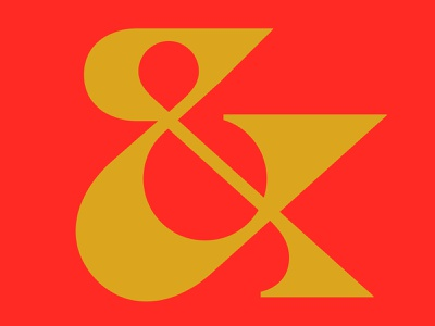 & ampersand typography letter monogram symbol mark logo
