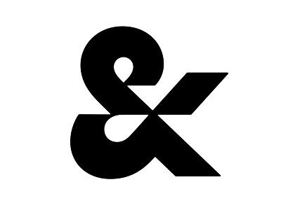 & ampersands ampersand lettering logo mark symbol negative space logotype typography letter monogram symbol mark logo