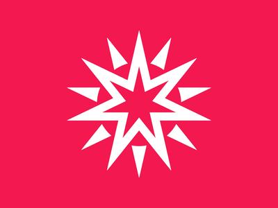 1 negative space logo negative space sun logo sun star logo star symbol mark logo