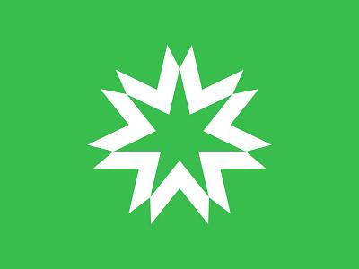 3 sun logo sun star logo star symbol mark logo