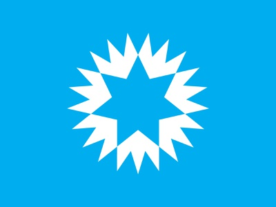 4 negative space logo negativespace star logo star sun logo sun symbol mark logo