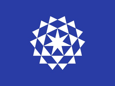 5 sun logo sun star logo star symbol mark logo