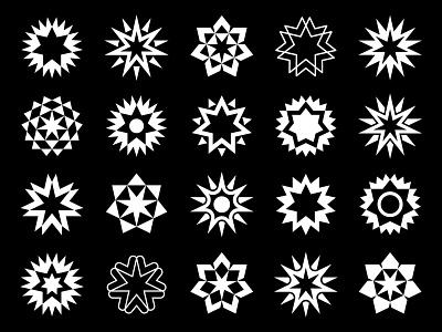 all negative space logo negativespace sun logo sun star logo star symbol mark logo