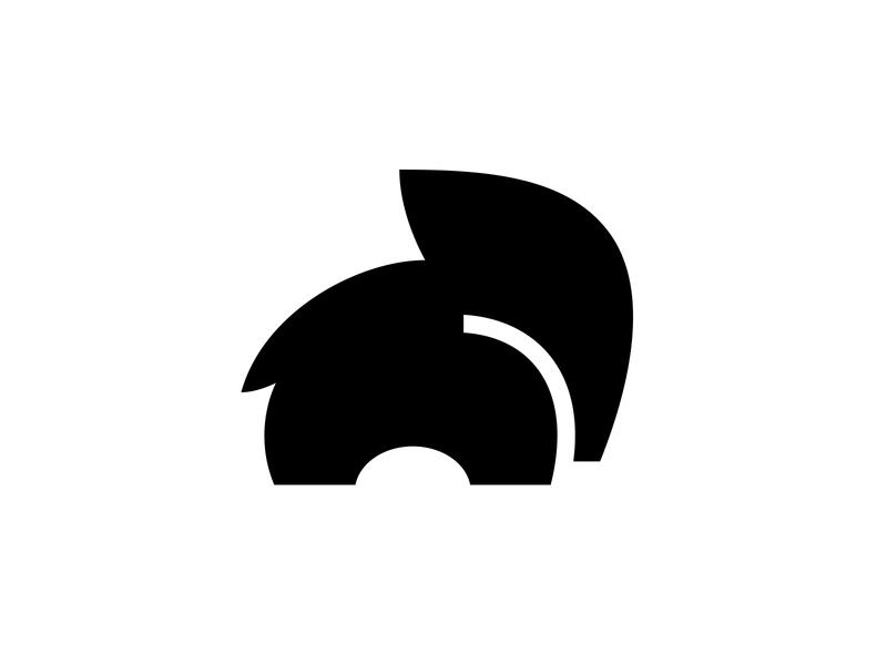 Elephant 2 negative space logo negative space animal logo cute logo elephant logo elephant symbol mark logo