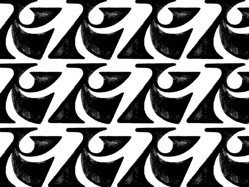 K Pattern lettering logo lettering lettermark brush pen sketch k logo letter k k negative space logotype typography letter monogram symbol mark logo