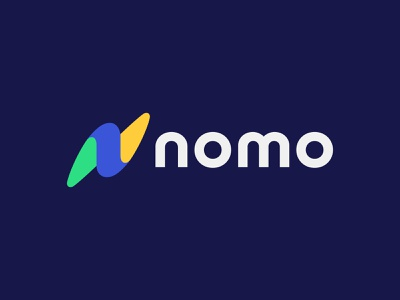Nomo V2 speed bolt logo lightning bolt n letter n logo n logotype typography letter monogram symbol mark logo