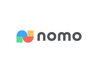 Nomo V3 letter n n logo n logotype typography letter monogram symbol mark logo