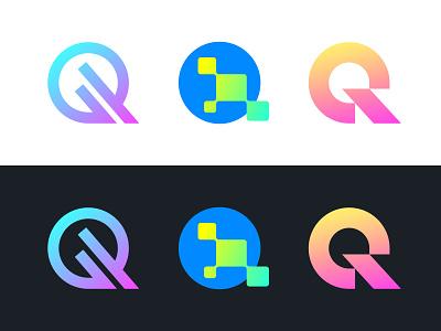 Q q logo q typography letter monogram symbol mark logo