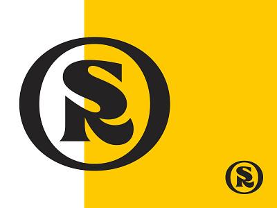 SR sr monogram sr logo sr logo mark symbol logotype typography letter monogram symbol mark logo
