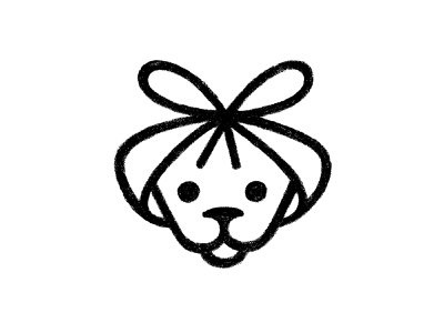 Puppy Sketch pencil drawing pencil puppy sketch sketch puppy logo puppy symbol mark logo