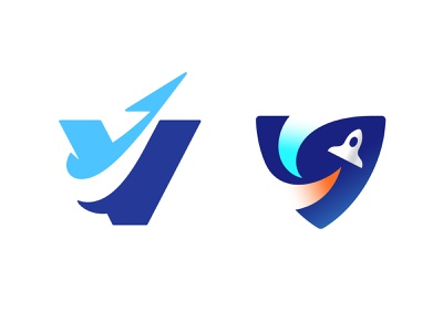 V + Space Shuttle Versions space shuttle shuttle space typography letter monogram symbol mark logo