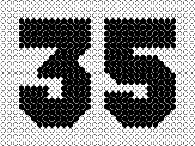 35 35 number numbers illustration design logotype typography letter monogram symbol mark logo