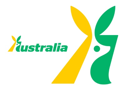 A for Australia kakhadzen negative space logo logo design australia identity branding a logo a letter a kangaroo logo kangaroo illustration design logotype typography letter monogram symbol mark logo