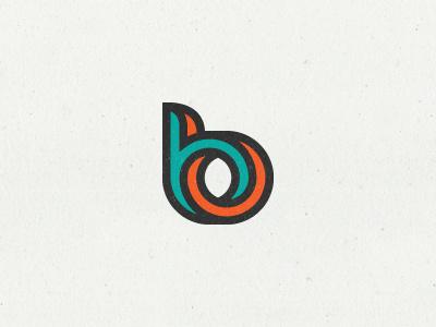 bb Monogram logo symbol mark monogram b letter logotype kakha kakhadzen