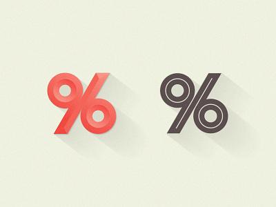 96% ambigram symbol 96 number mark percent kakhadzen kakha