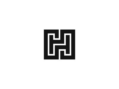 HH monogram hh h logo mark symbol