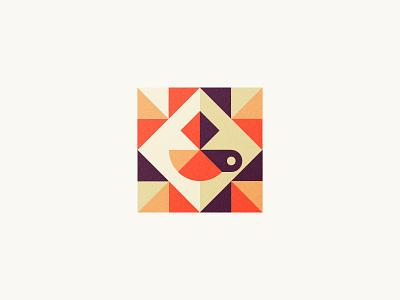 Coffee & Waffles / Cafe cup geometric cafe waffle coffee symbol mark logo