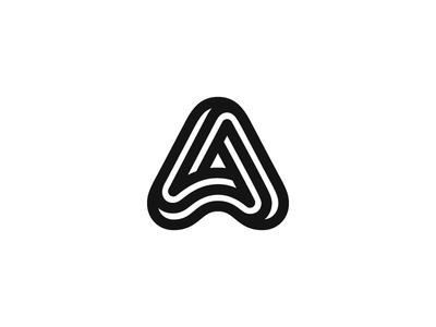 A letterform letter typography a monogram logotype symbol mark logo