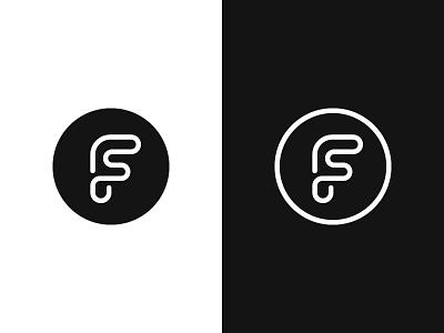 F / FS logotype typography monogram s f letter symbol mark logo