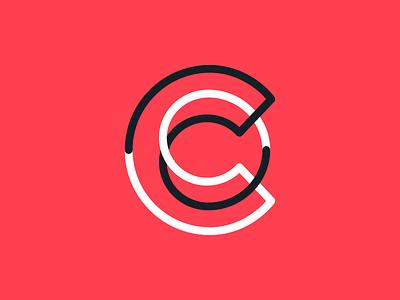 C logotype typography monogram c letter symbol mark logo