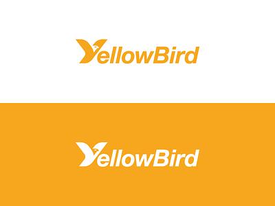 Yellowbird 1 yellow bird logotype typography monogram y letter symbol mark logo