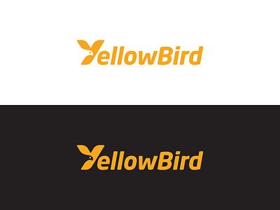 Yellowbird 2 yellow bird logotype typography monogram y letter symbol mark logo