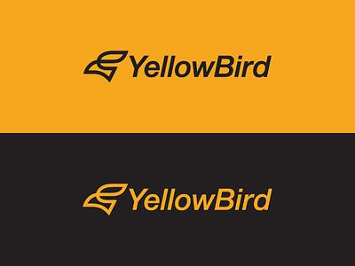 Yellowbird 3 yellow bird logotype typography monogram y letter symbol mark logo