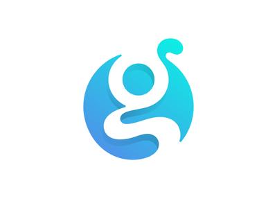 g logotype typography monogram g letter symbol mark logo