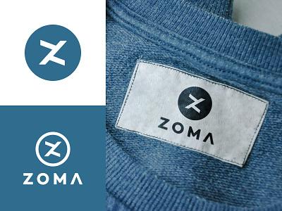 Zoma V. 3 style letter clothes brand street wear monogram typography symbol mark logo