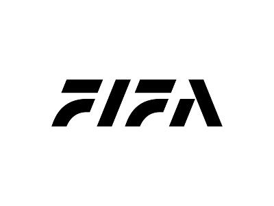 FIFA kakhadzen font logotype typography monogram fifa letter symbol mark logo