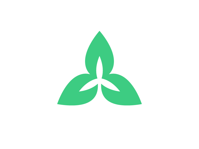 Green tech icon