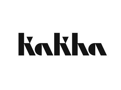 *** logotype typography monogram kakha letter symbol mark logo