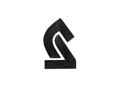 Knight / Sketch game figure chess horse knight symbol mark logo
