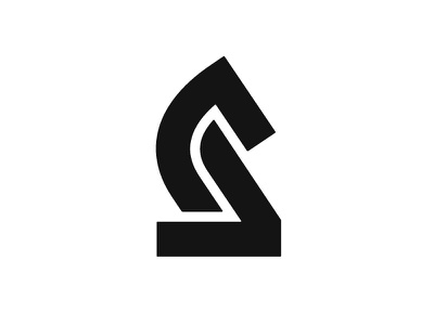Knight game horse figure chess knight symbol mark logo