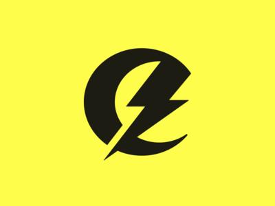 e lighting bolt thunderbolt thunder e e letter e logo typography letter monogram symbol mark logo
