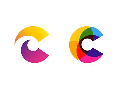 C color c letter c typography logotype letter monogram symbol mark logo