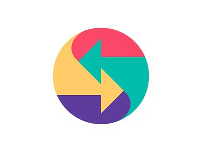 Arrows Color arrows symbol mark logo