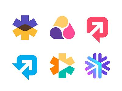 Wip speech bubble bubble arrows mark symbol logo