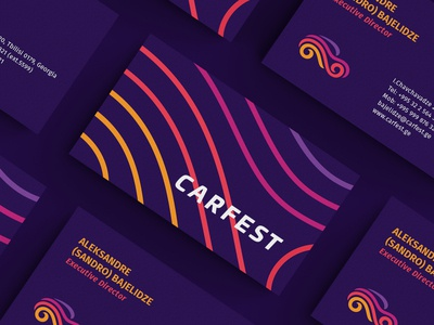 Carfest / Business Cards