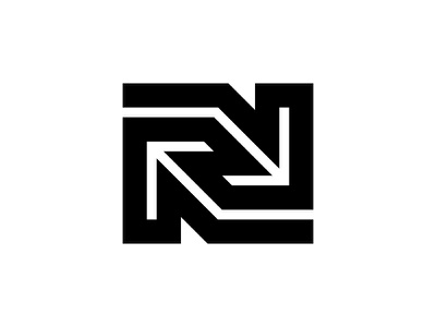 N n typography logotype letter monogram symbol mark logo