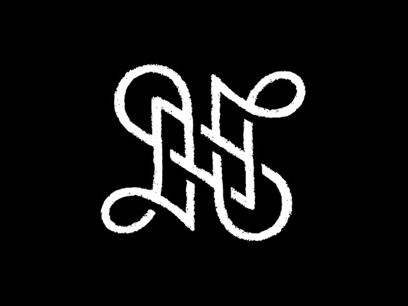 N / Sketch n typography logotype letter monogram symbol mark logo