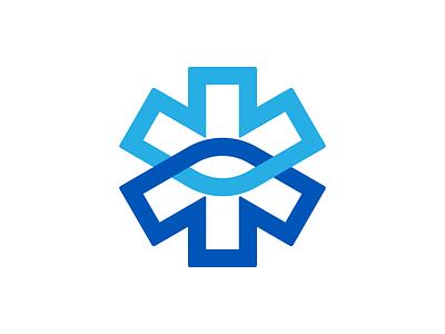 Wip5 arrows star symbol mark logo