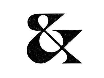 & sketch ampersand symbol mark logo