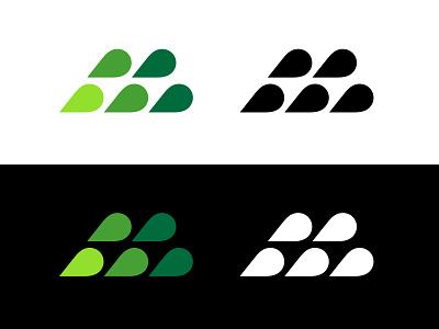 M letter m lettermark m typography logotype letter monogram symbol mark logo